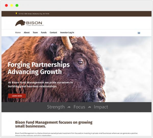 BisonFM.com Website Design 3