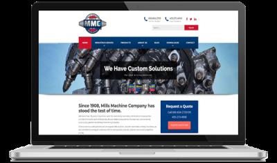 Mills Machine Web Development 3